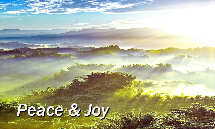 Joy Peace and Happiness is found <a href=